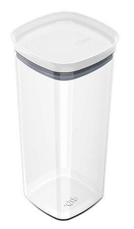 Organizador Hermético Branco Block 1,5L OB300