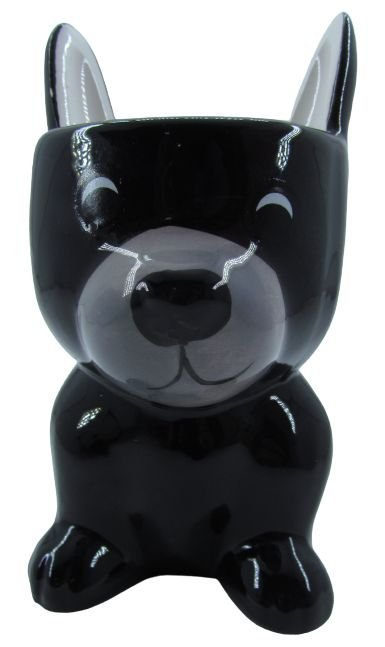 Cachorro Preto Vaso FR202030