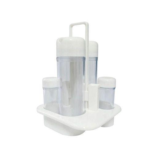 Galheteiro Plástico Branco WX4904