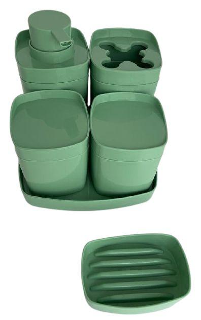 Kit Banheiro 5 Peças Color 7252