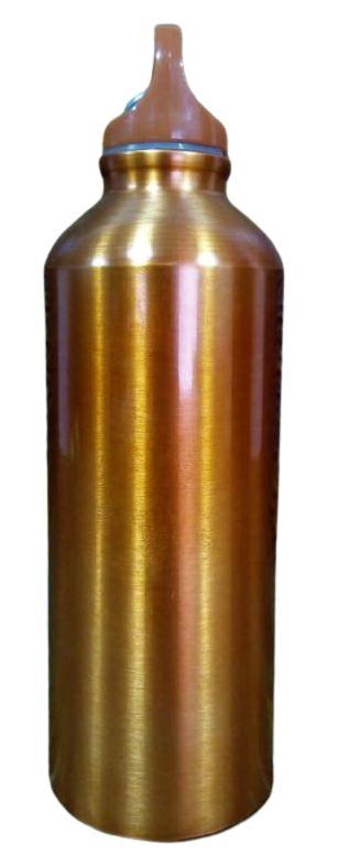 Squeeze Alumínio Mosquetão 500ML Liso Laranja