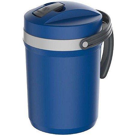 Garrafa Térmica Flip Top Azul 2,5L