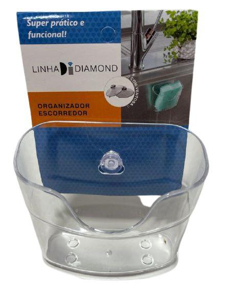 Organizador Escorredor C/ Ventosa Diamond 1250