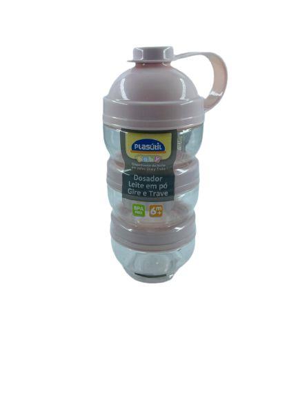 Dosador de leite Pó Gire e Trave Menina 13727