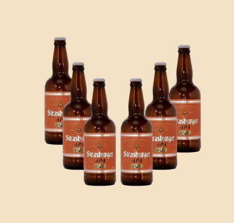 Cerveja artesanal - kit 6/un - APA 500ml