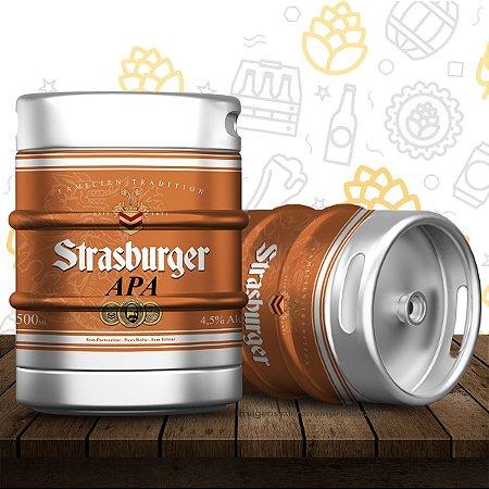 Barril de cerveja artesanal APA (American Pale Ale) - Strasburger