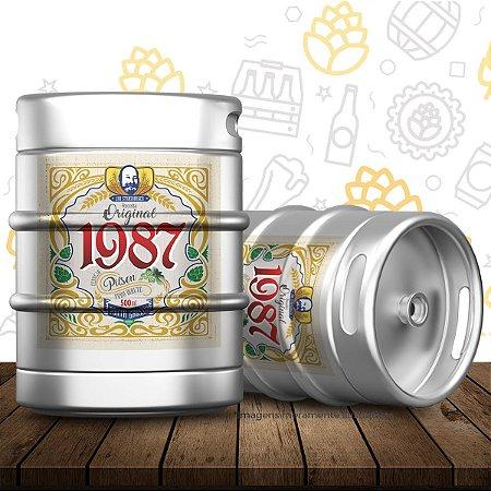 Barril de cerveja artesanal Original 1987