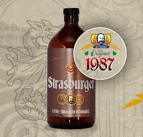 Growler de Cerveja artesanal - Original 1987 - Strasburger