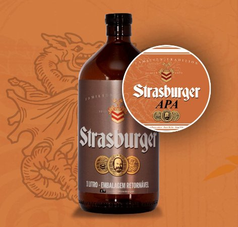 Growler de Cerveja artesanal - APA - Strasburger