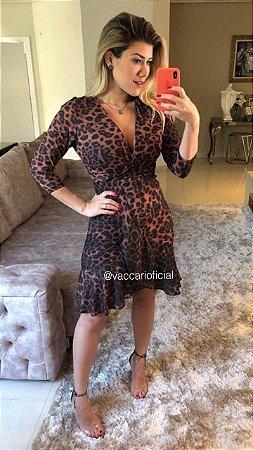 Vestido Helo Onça - PV