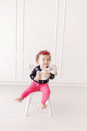 Calça Jogger Canelada Pink