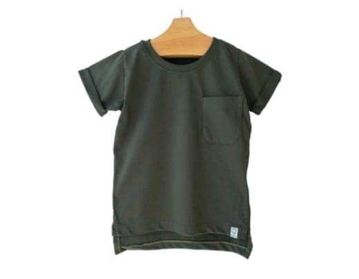 Camiseta Manga Curta Verde