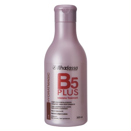 Shampoo B5 Plus Intesive Treatment Complexo Fortalecedor Hidratmagic 300ml - Ilhadassa