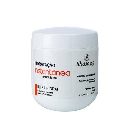 Máscara Disciplinante Hidratação Instantânea Anti-volume Ultra Hidrat 500g - Ilhadassa
