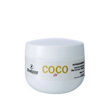 Máscara Nutrição Máxima Óleo de Coco Nutrimagic - Ilhadassa - 300g