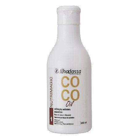 Shampoo Especial Óleo de Coco Nutrimagic 300ml - Ilhadassa