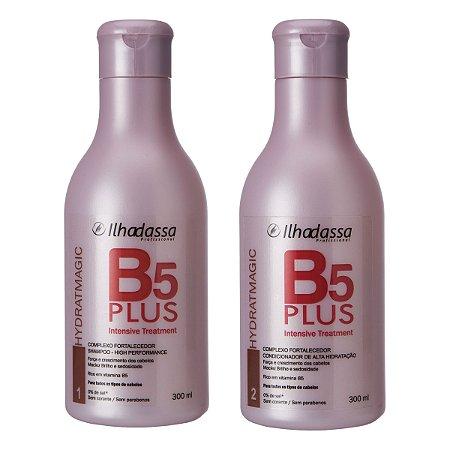 Kit Shampoo, Condicionador B5 Plus Intensive Treatment - Alta Hidratação Rico em Dpantenol - llhadassa