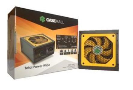 Fonte Casemall TotaL Power Wide 500W
