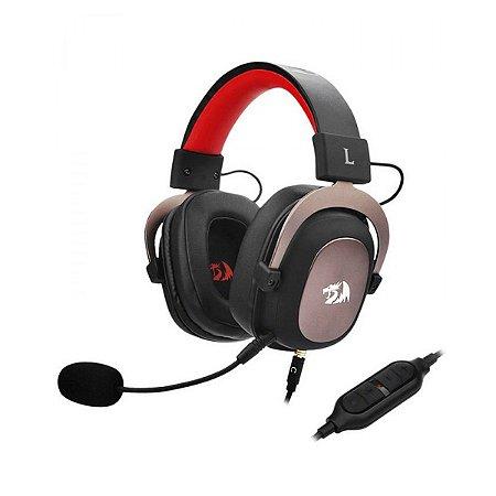 Headset Redragon Zeus 2, USB, Multiplataforma, Surround 7.1, H510-1