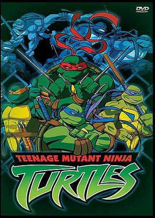 Coleção das Tartarugas Ninjas.