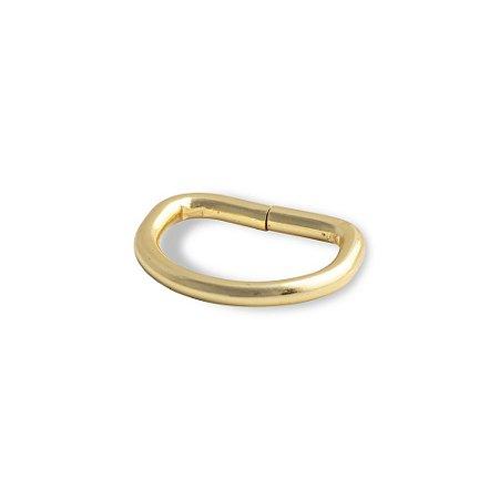 Meia Argola 19mm - Dourado