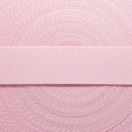 Fita Lisa 30mm -Rosa Bebê