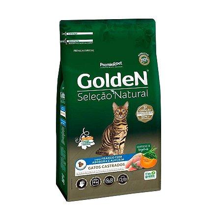 Ração Golden para Gatos Adultos Castrados Seleção Natural Abóbora 1kg
