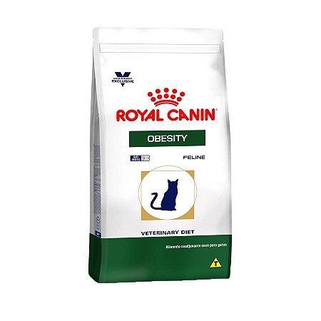 Ração Royal Canin Veterinary Obesity - Gatos Adultos - 1,5kg