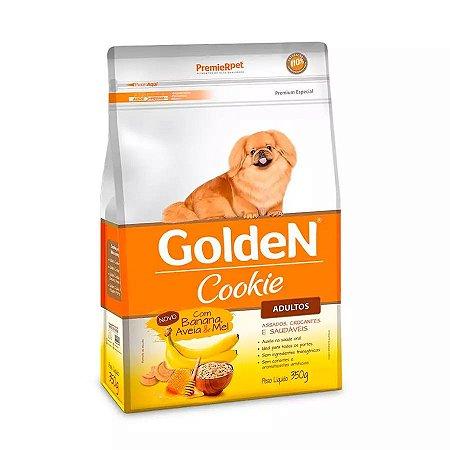 Biscoito Golden para Cães Adultos Sabor Banana Aveia e Mel 350g