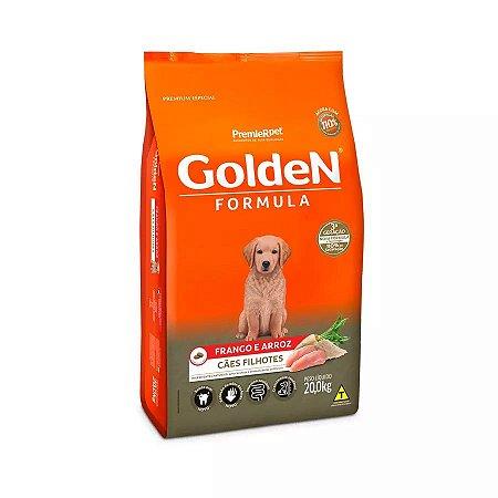Ração Golden Filhote Sabor Frango e Arroz para Cães 20kg