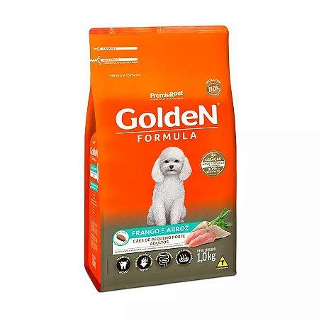 Ração Golden Fórmula Mini Bits Para Cães Adultos De Pequeno Porte Sabor Frango E Arroz 10,1 Kg