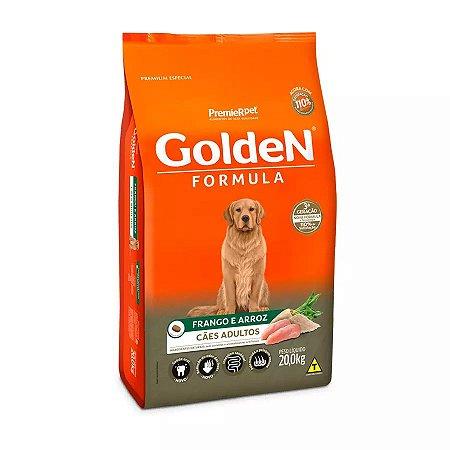 Ração Golden Fórmula Para Cães Adultos Sabor Frango E Arroz 20kg