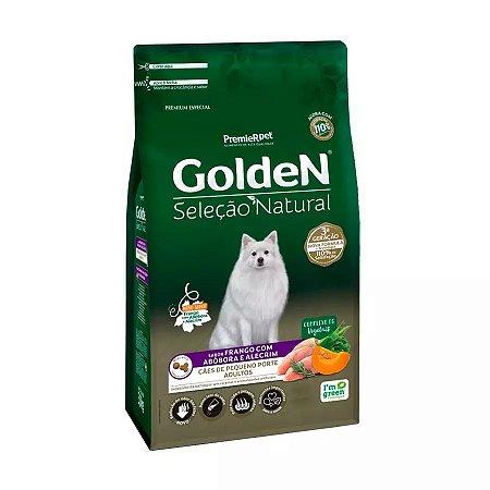 Ração Golden Cães Adultos Raças Pequenas Sel Nat Abóbora 3kg