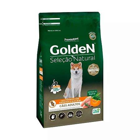 Ração Golden Cães Adultos Sel Nat Abóbora 12kg