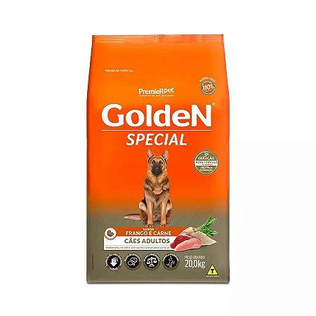 Ração Golden Special Sabor Frango e Carne para Cães Adultos 20kg