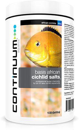 Continuum Basis African Cichlid Salts 250g