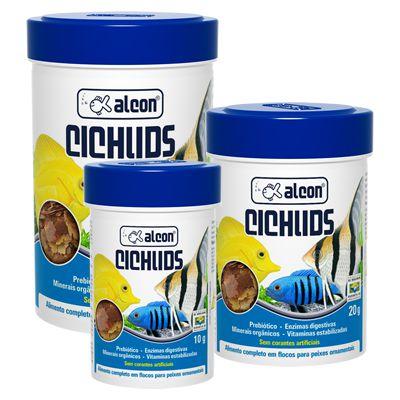 Alimento Alcon Ciclideos Granulos 130gr
