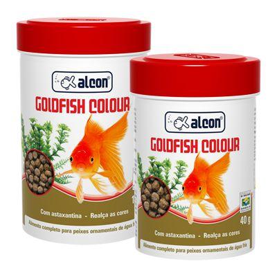 Alimento Alcon Goldfish Colour 40g