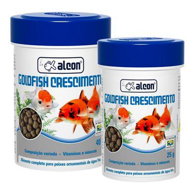 Alimento Alcon Goldfish Crescimento 25gr