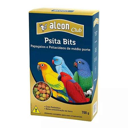 Ração Alcon Club Pássaros Psitacídeos Bits 700g