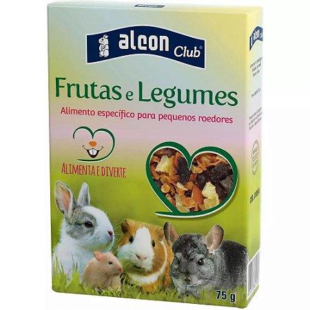 Ração Alcon Club Roedores Frutas Legumes - 75g