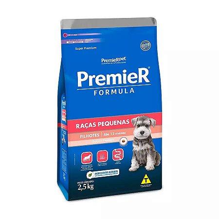 Ração Premier Fórmula para Cães Filhotes de Raças Pequenas Sabor Frango 2,5kg
