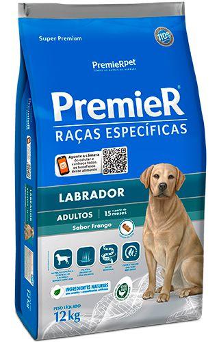 Ração Premier Raças Específicas Labrador Para Cães Adultos - 12kg