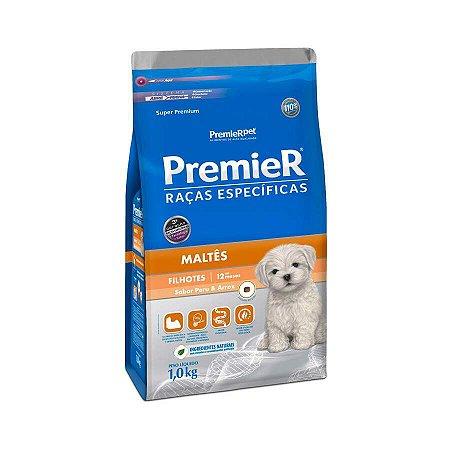 Ração Premier Raças Específicas Maltês Para Cães Filhotes 1 Kg