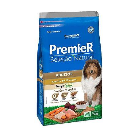Premier Seleção Natural para Cães Adultos 2,5kg