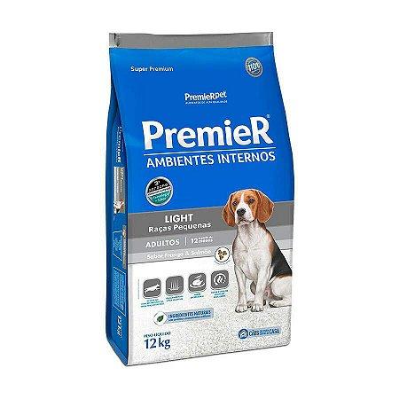 Ração Premier Ambientes Internos Light Para Cães Adultos Sabor Frango E Salmão 1 Kg
