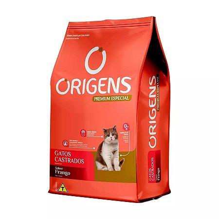 Ração Origens Para Gatos Castrados Sabor Frango 3kg