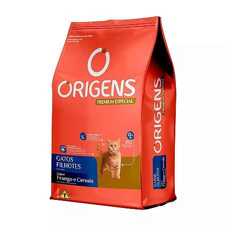 Ração Origens Para Gatos Filhotes Sabor Frango 1kg