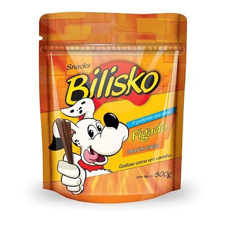 Petisco Bilisko Palito Fino de Fígado para Cães 500g