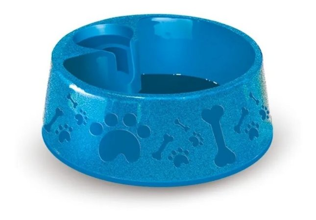 Bebedouro Plast. Paris Furacaopet N4 - 1600 Ml (Azul)